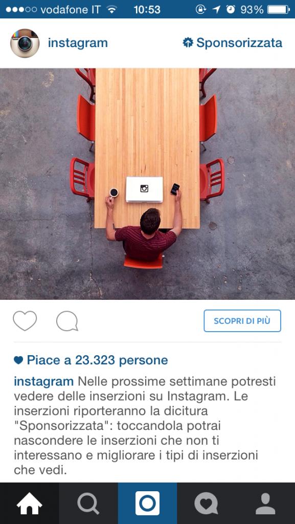 inserzioni su instagram