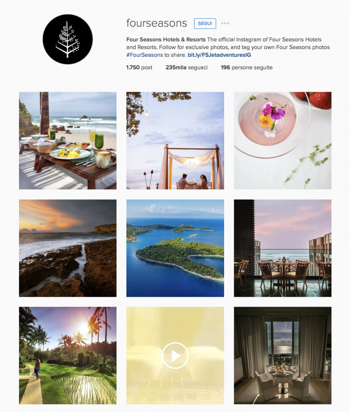 Four Seasons Intagram